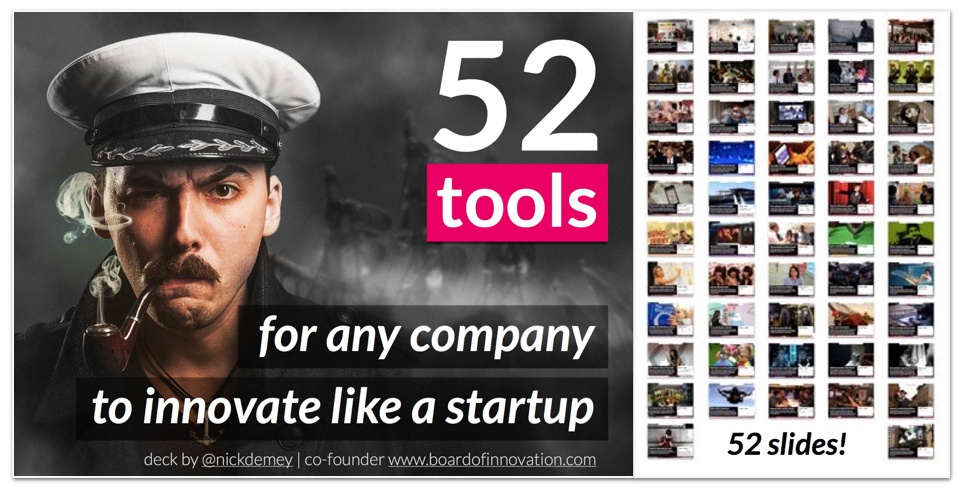 Innovate like a startup